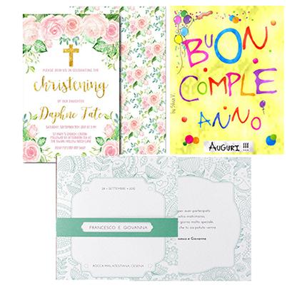 Inviti e Cartoline