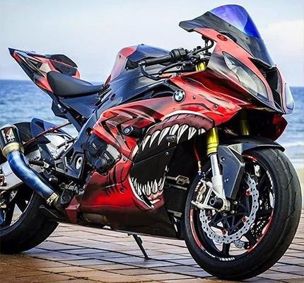 Wrap Moto BMW