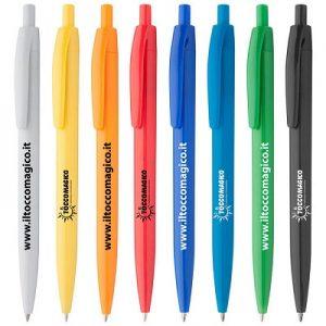 PENNA MARINA  – Penna in Plastica Colorata – Personalizzabile
