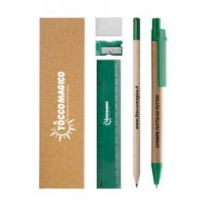 SET SCRITTURA  – Ecologico – Colorato – Personalizzabile