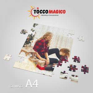 Puzzle in A4 personalizzabile