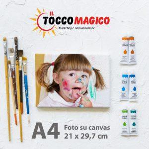 Foto su Canvas – Formato A4 – 21 x 29,7 cm